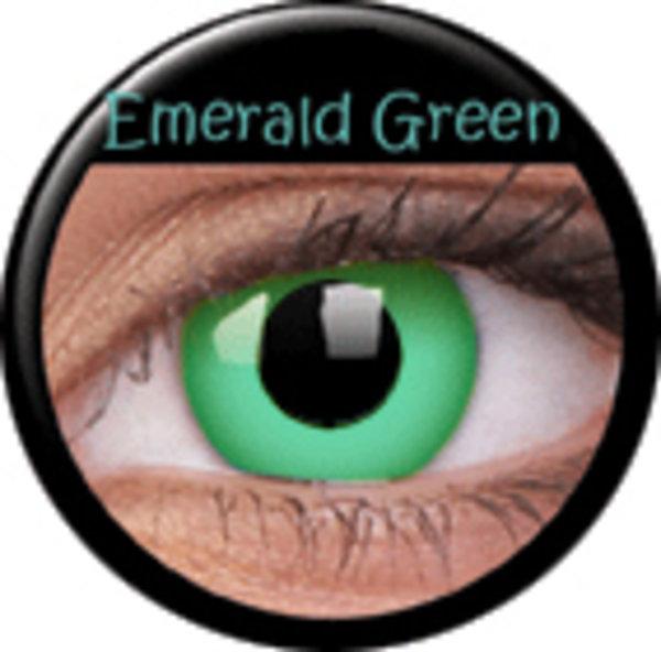 ColourVue Crazy šošovky - Emerald (2 ks ročné) - nedioptrické - výpredaj 12/2017