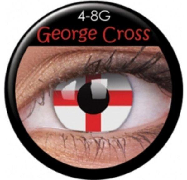 ColourVue Crazy šošovky - Georgeous Cross - (2 ks ročné) - nedioptrické