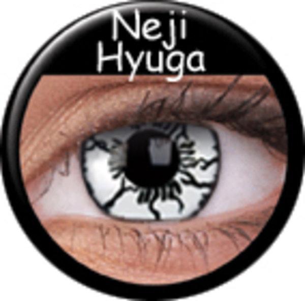 ColourVue Crazy šošovky - Neji Hyuga (2 ks ročné) - nedioptrické