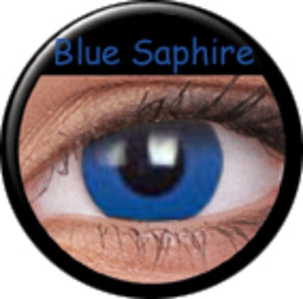 Phantasee Crazy šošovky - Blue Saphire (2 ks ročné) - nedioptrické