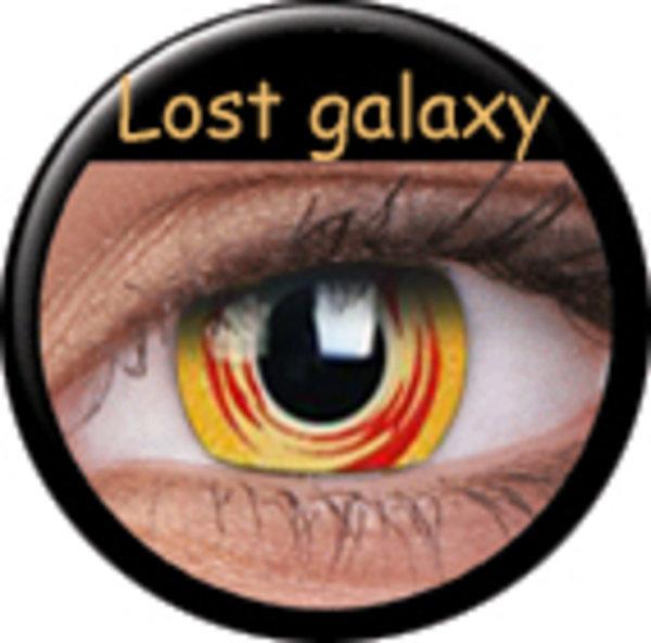 Phantasee Crazy šošovky - Lost Galaxy (2 ks ročné) - nedioptrické - exp.02/2021