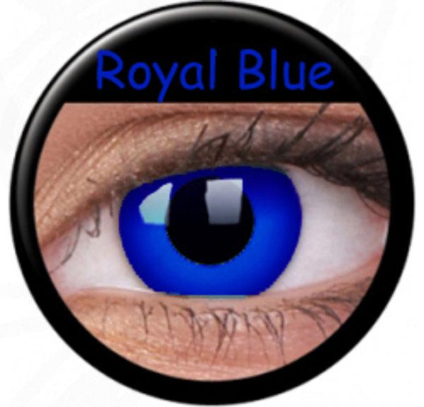 ColourVue Crazy šošovky - Psylocke (Royal Blue) (2 ks ročné) - nedioptrické - exp.04/2020