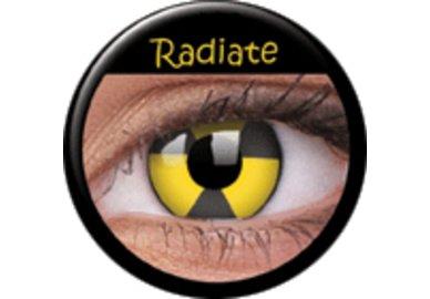 ColourVue Crazy šošovky - Radiate (2 ks ročné) - nedioptrické