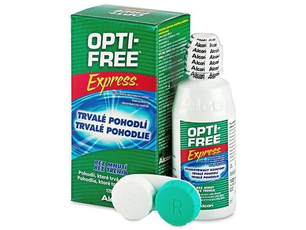 Opti-Free Express 120 ml s púzdrom - exp.11/2016