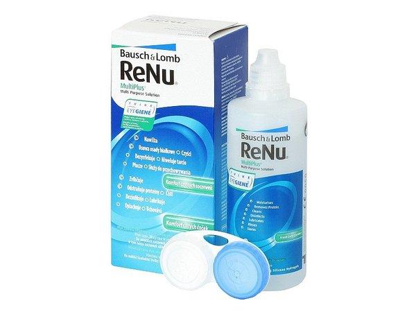 ReNu MultiPlus 120 ml s púzdrom - poškodený obal