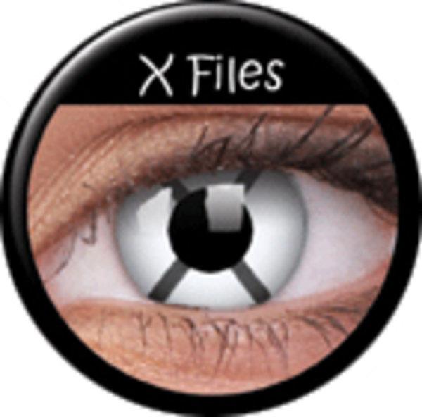 ColourVue Crazy šošovky - X Files (2 ks ročné) - nedioptrické
