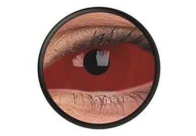 ColourVue Crazy šošovky Sklerálne - Cyclop (2 ks polročné) - nedioptrické