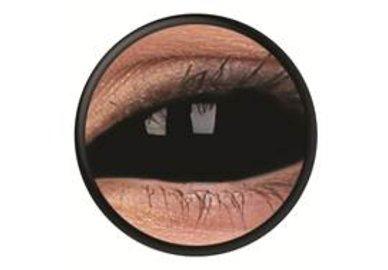 ColourVue Crazy šošovky Sklerálne - Sabretooth (2 ks polročné) - nedioptrické