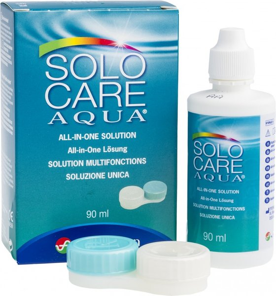 SoloCare Aqua 90 ml s púzdrom - poškodzený obal