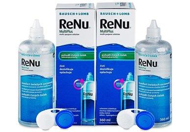 ReNu MultiPlus 2 x 360 ml s púzdry