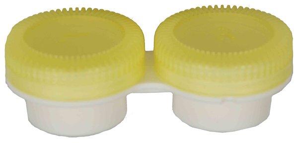 Puzdro k vibračným sadám průhledné- náhradné - žlté