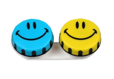 Ozdobné púzdro s motívom - Smiley