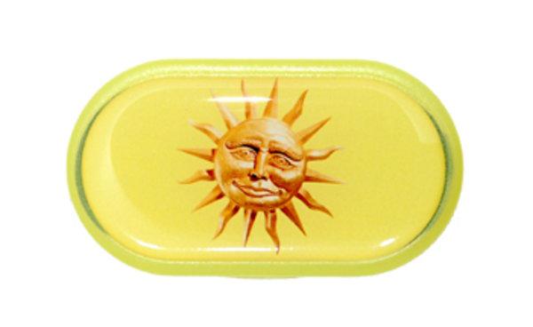 Púzdro so zrkadielkom Jednoobrázkové - Slnko