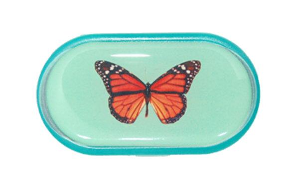 Púzdro so zrkadielkom Jednoobrázkové - Motýľ