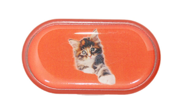 Púzdro so zrkadielkom Jednoobrázkové - Mačiatko