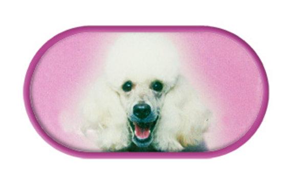 Púzdro so zrkadielkom Psi - Pudel