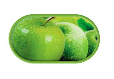 Púzdro so zrkadielkom motív Ovocie - Jablko    _Pouzdra