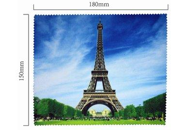 Handričku na okuliare z mikrovlákna - Eiffelovka
