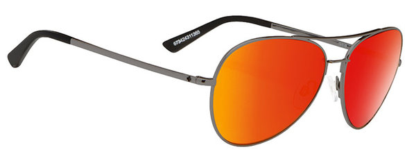 Slnečné okuliare SPY WHISTLER Gunmetal / Red - happy