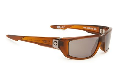 Slnečné okuliare SPY DIRTY MO - Brown Ale  - happy polar