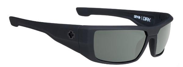 Slnečné okuliare SPY DIRK - Soft Matte Black - happy polar