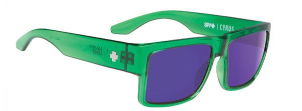 Slnečné okuliare SPY Cyrus - Trans Green