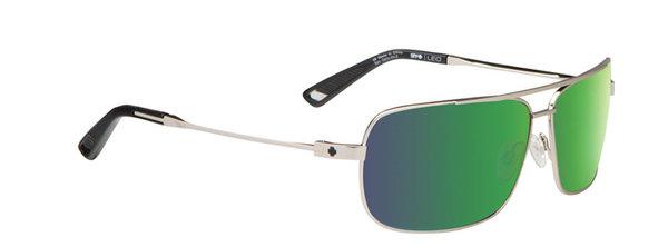 SPY slnečné okuliare Leo GP Silver - Happy bronze / green spectra