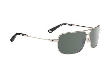 SPY slnečné okuliare Leo GP Silver - Happy grey green - polarizačný
