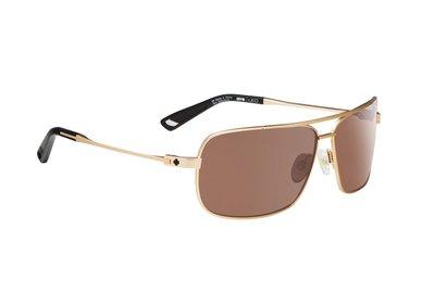 SPY slnečné okuliare Leo Brass - Happy bronze