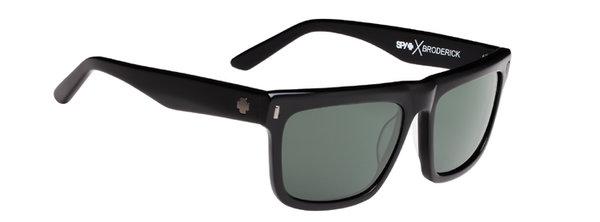 Slnečné okuliare SPY BRODERICK - Black happy polar
