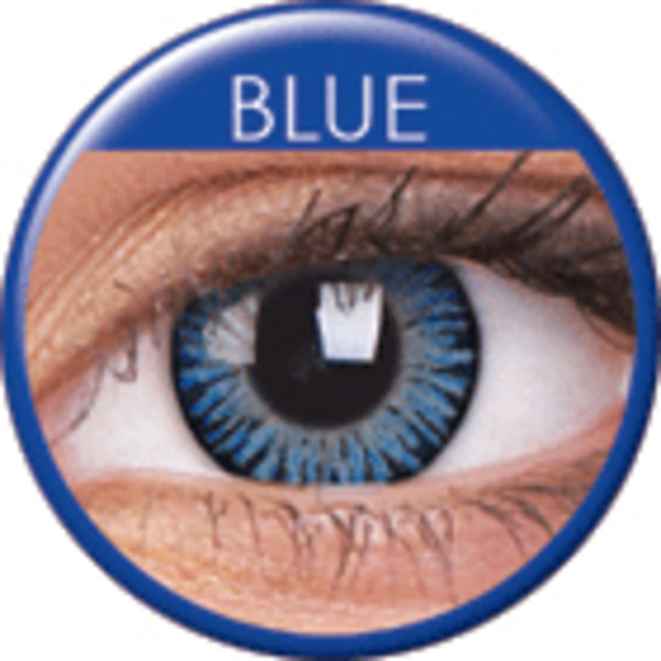 3 Tone Blue - Toric dioptrické (2 trojmesačné šošovky) - dopredaj