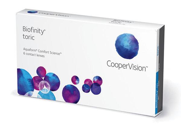 Biofinity Toric (6 šošoviek)