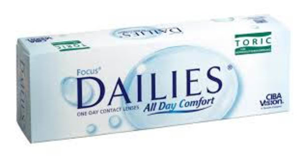 Focus Dailies Toric (30 šošoviek)