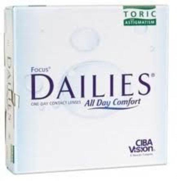 Dailies All Day Comfort Toric (90 šošoviek)