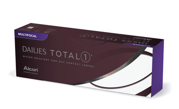 Dailies Total 1 Multifocal (30 šošoviek)