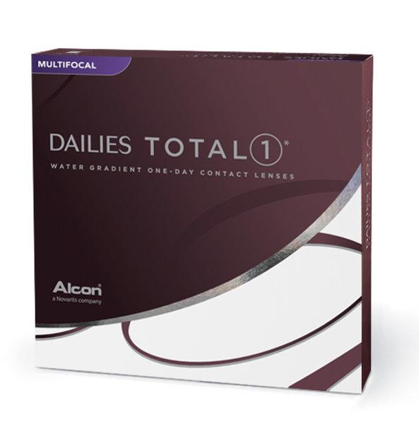 Dailies Total 1 Multifocal (90 šošoviek)