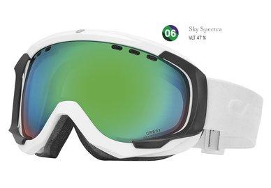 Lyžiarske okuliare Carrera CREST SPH - biele/sky