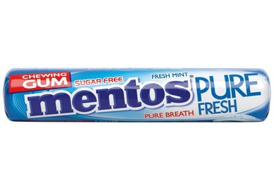 Mentos Gum pure fresh mint roll 15,5g
