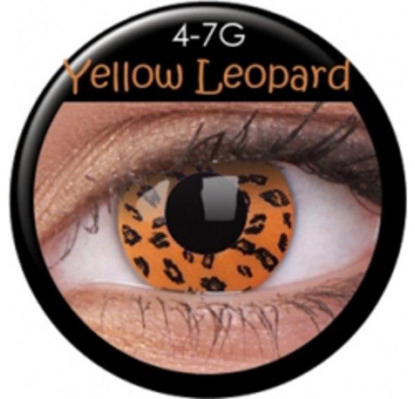 ColourVue Crazy šošovky - Yellow Leopard (2 ks ročné) - nedioptrické - výpredaj 12/2017