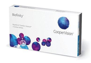 Biofinity (3 šošovky) - poškodený obal +4,50
