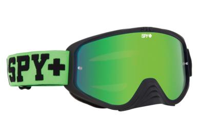 SPY motokrosové okuliare WOOT RACE Green