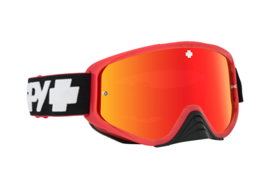 SPY motokrosové okuliare WOOT RACE Red