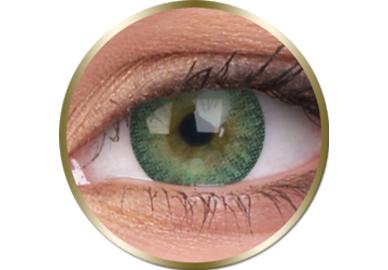 Phantasee Natural - Green (2 šošovky trojmesačné) - nedioptrické