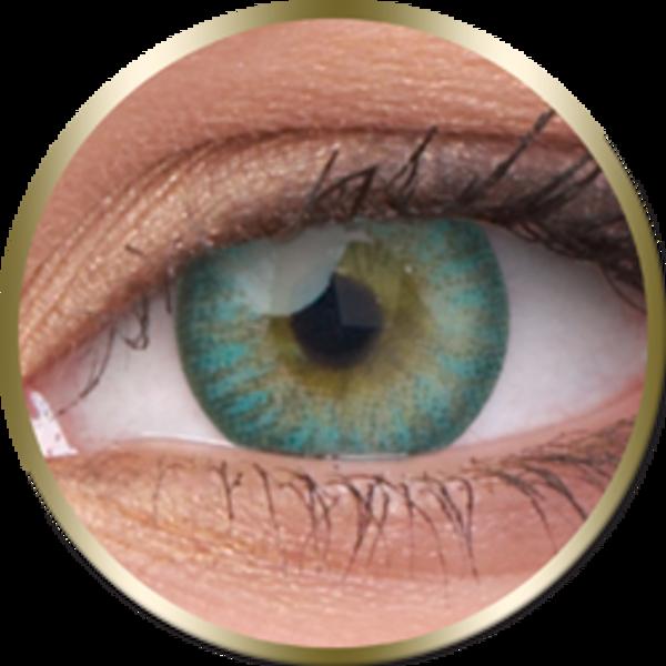 Phantasee Natural - Turquoise (2 šošovky trojmesačné) - nedioptrické - Výpredaj Exp. 12/2021