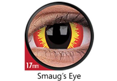 ColourVue Crazy šošovky 17 mm - Smaug´s Eyes (2 ks ročné) - nedioptrické