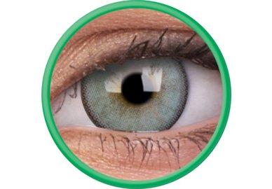 ColourVue Lumina - Gleaming Green (2 šošovky trojmesačné s puzdrem) - dioptrické