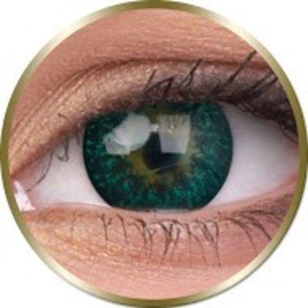 Phantasee Diva - Green (2 šošovky trojmesačné) - nedioptrické - dopredaj exp.2020