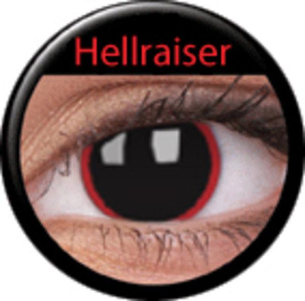 ColourVue CRAZY ŠOŠOVKY - Hell Raiser (2 ks trojmesačné) - dioptrické exp.02/2020