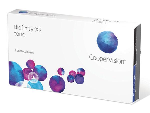 Biofinity XR Toric (3 šošovky)