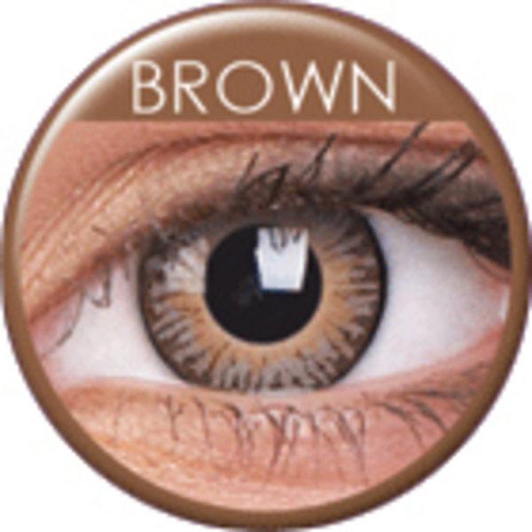 ColourVue 3 Tones - Brown (2 šošovky trojmesačné) - nedioptrické - exp.05/21